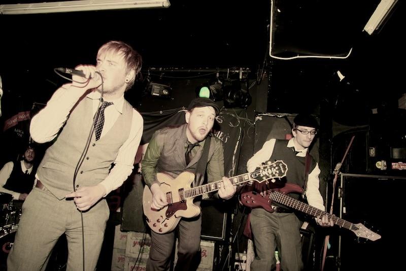 Concert au Dublin Castle dans le quartier de Camden Town à Londres - Photo d'Alaska the band