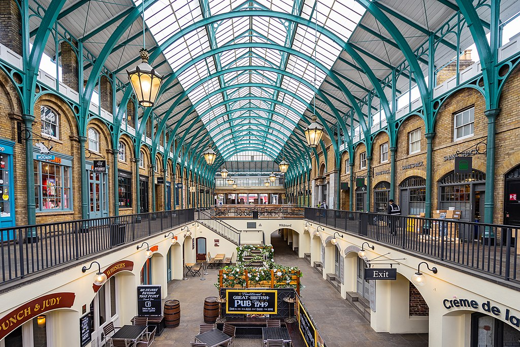 Le marché couvert de Covent Garden à Londres - Photo de Wei Te Wong