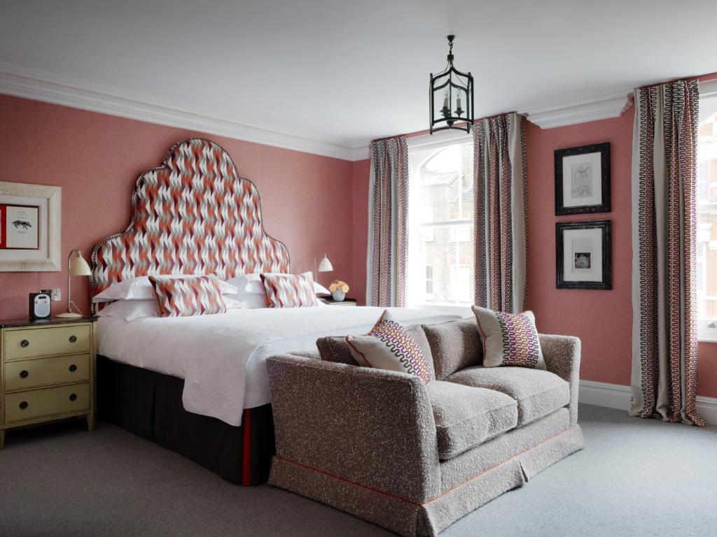 Charlotte Street London, hotel dans le centre de Londres.