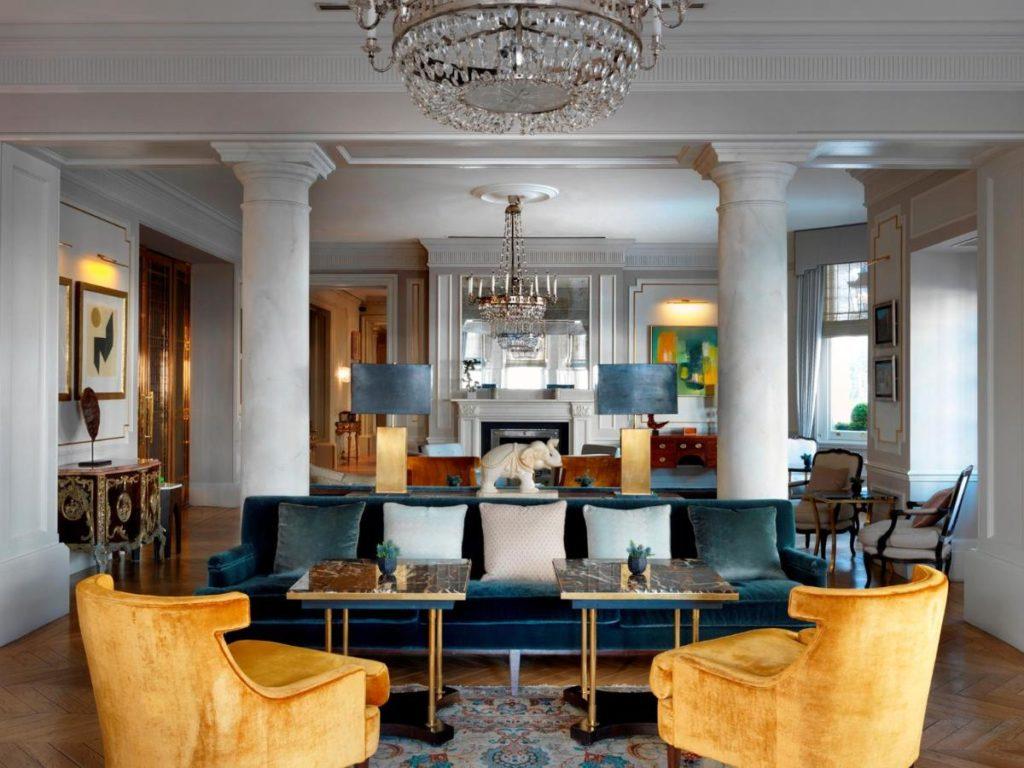 The Kensington Hotel, hôtel de luxe à Londres.