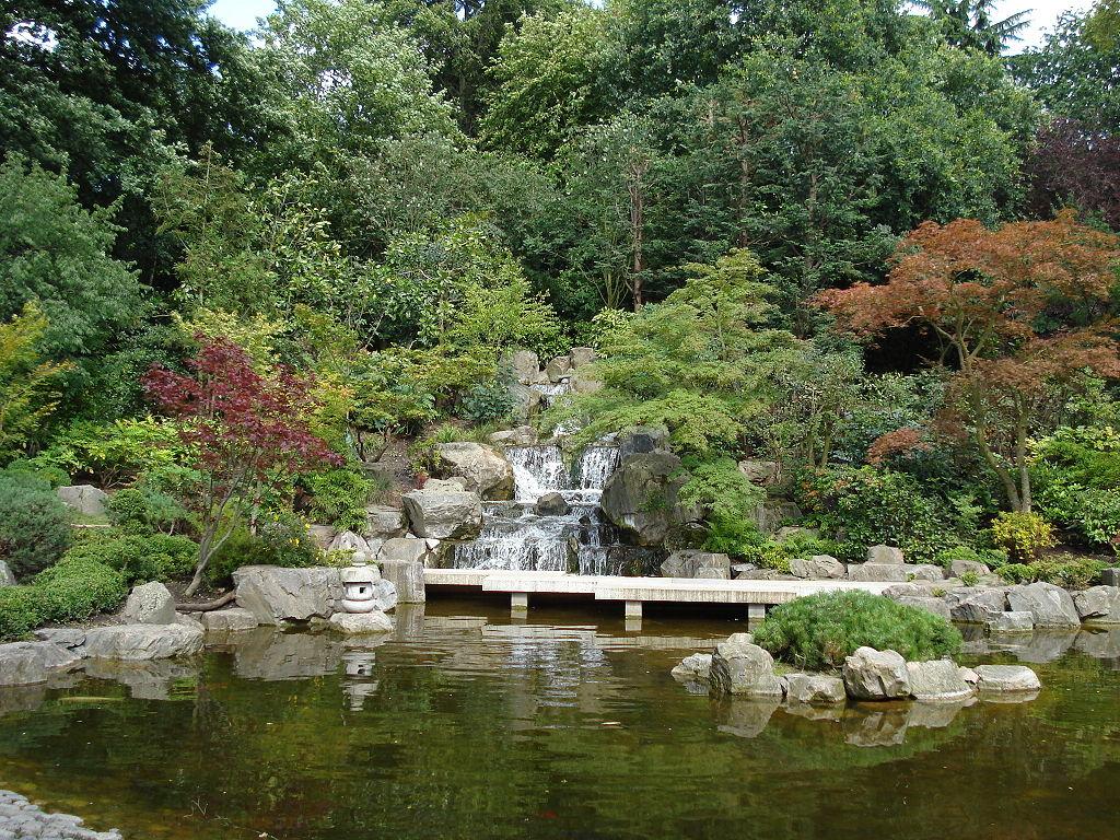 Jardin japonais du Holland Park à Londres - Photo de User:Aziz1005