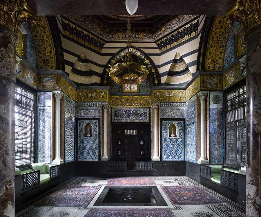 Leighton house, maison d'artiste à Kensington, Londres.