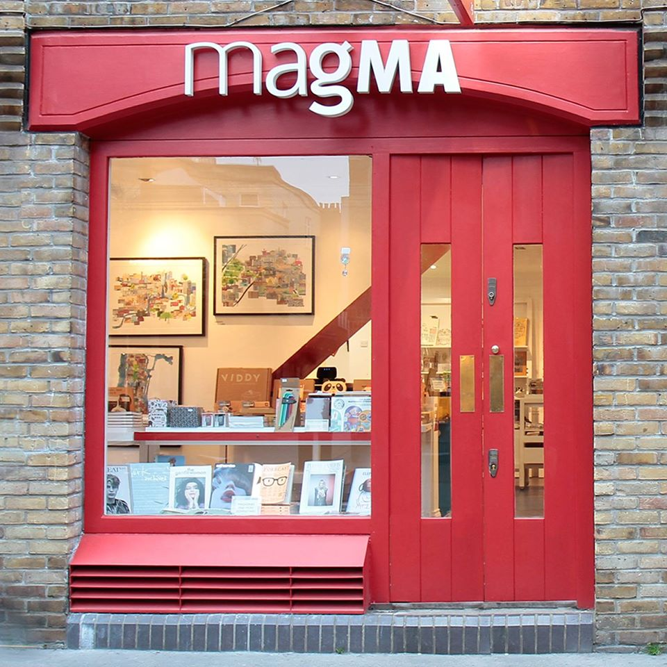 Boutique Magma à Londres.