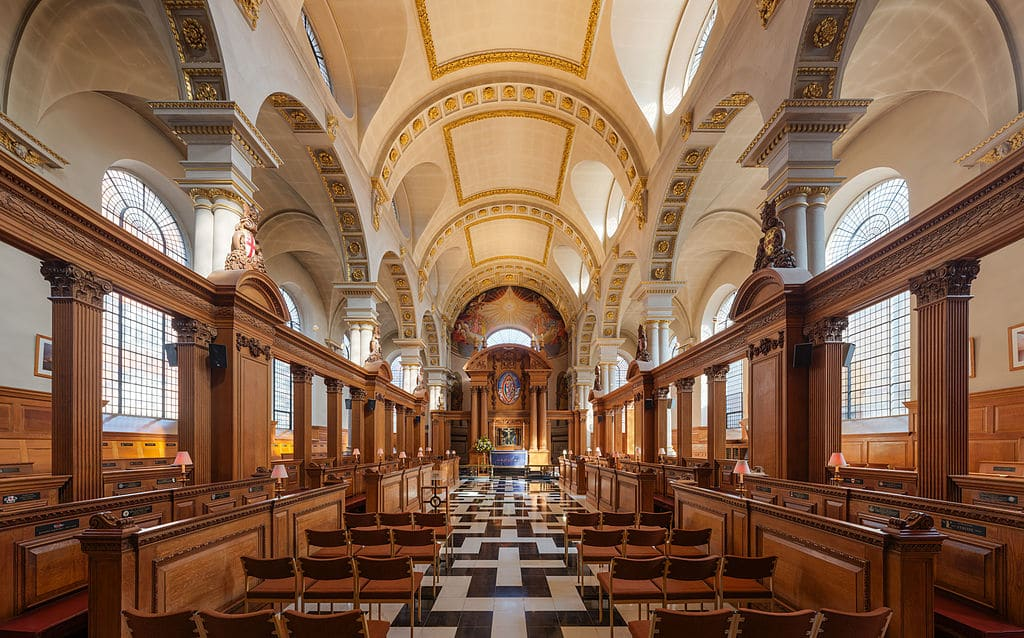 5 surprenantes églises de Christopher Wren à Londres