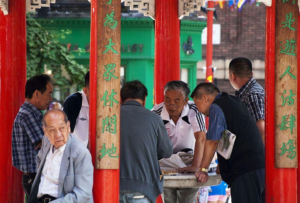 Chinatown dans le quartier de Soho à Londres - Photo de CGP Grey