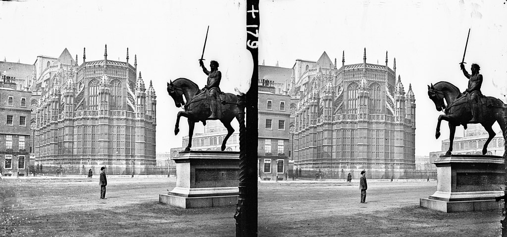 Dans le quartier de Westminster à Londres - Photo de Frederick Holland Mares et James Simonton