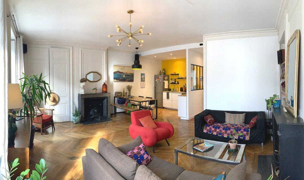 Airbnb à Lyon : Près des berges du Rhône.