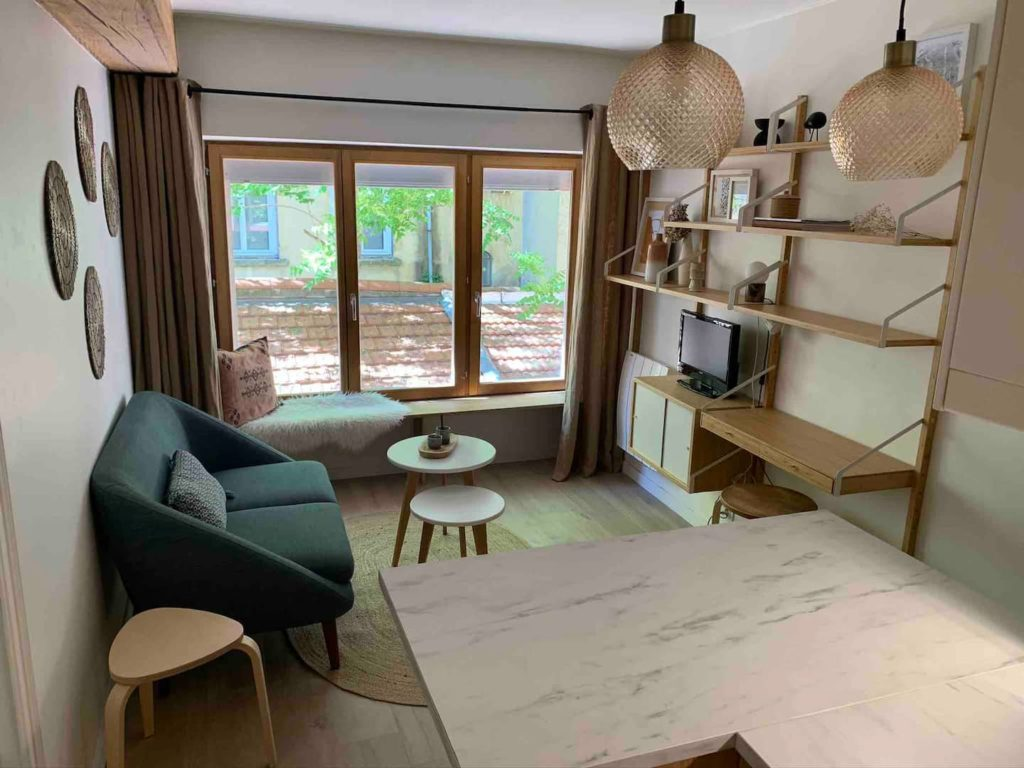 Airbnb à Lyon : Appart en location dans le quartier de la Croix Rousse.