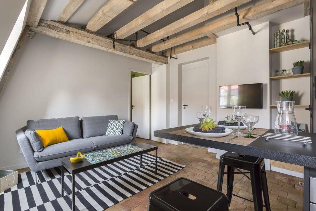 Airbnb à Lyon : Appart en location dans le centre.