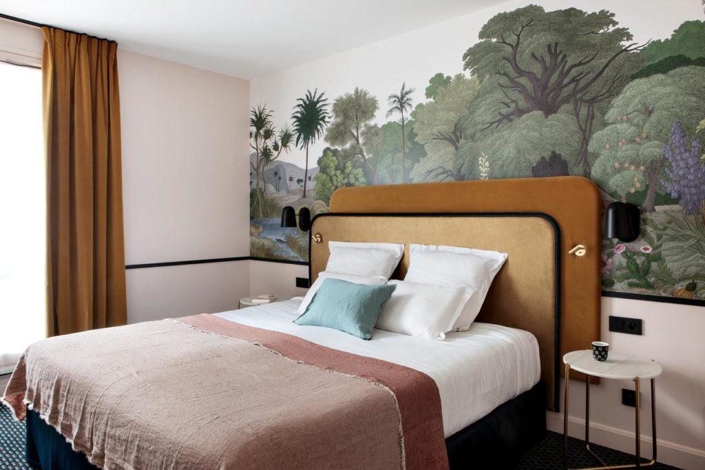 Chambre de l'Hotel Best Western du Pont Wilson à Lyon