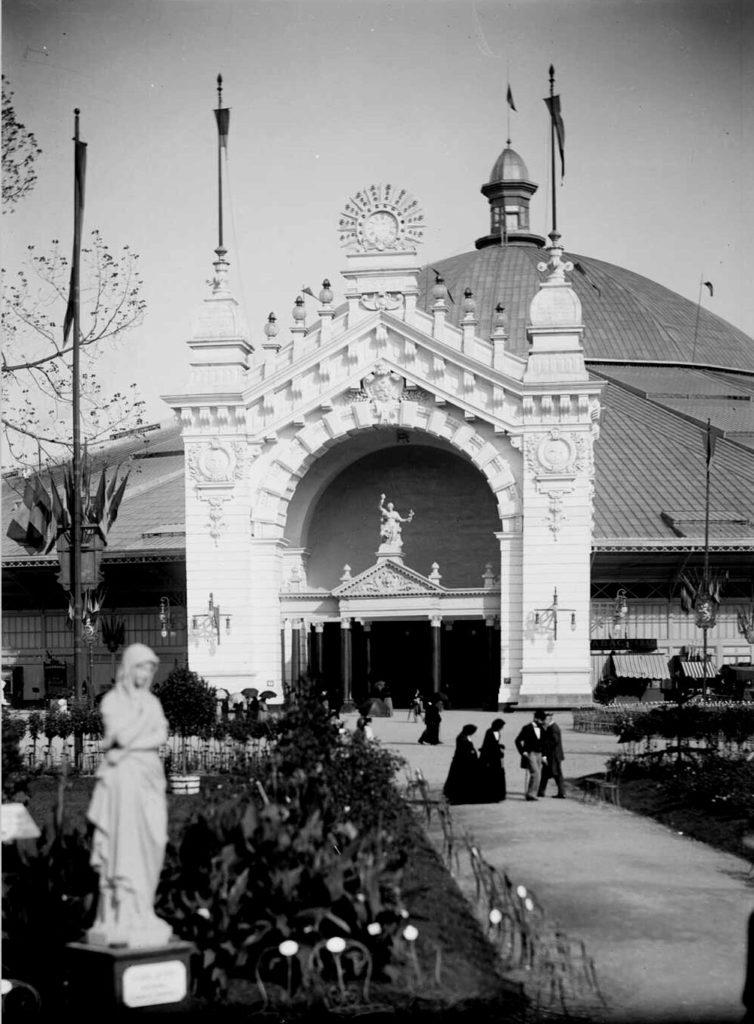 Coupole de l'exposition universelle de 1894 à Lyon.