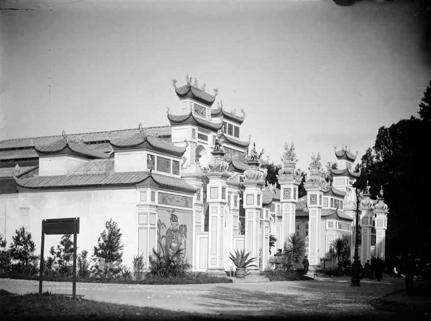 Pavillon de l'Indochine à l'exposition universelle de 1894 à Lyon.