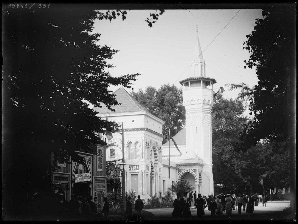 Pavillon de la Tunisie à l'exposition universelle de 1894 à Lyon.