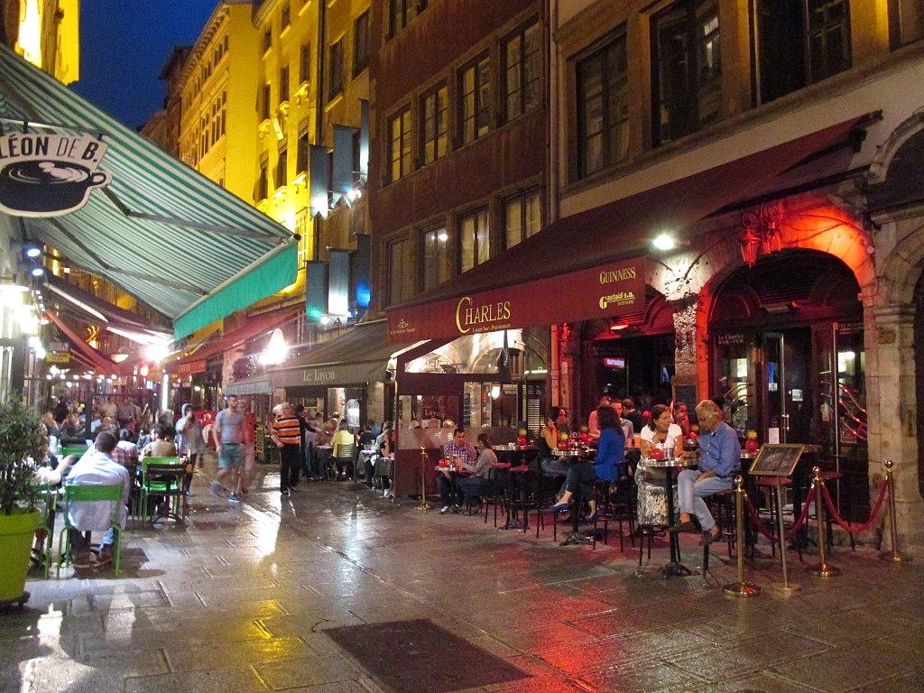 Rue Mercière dans le quartier de la Presqu'île à Lyon - Photo d'Arnaud 25