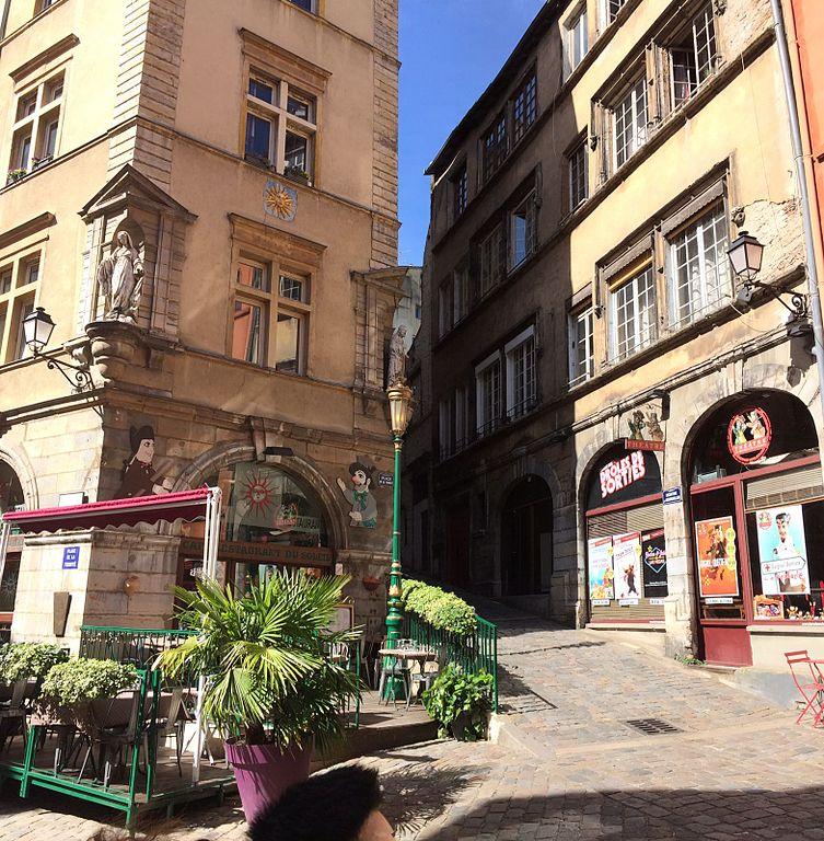 Montée du Gourguillon dans le quartier de Saint Georges à Lyon - Photo de Davric
