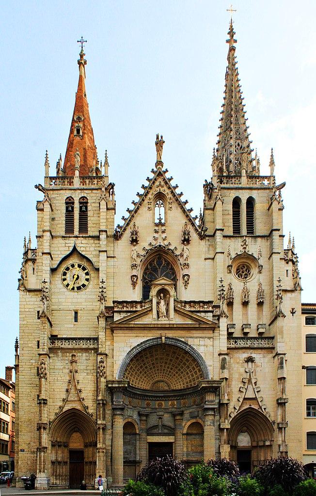 Eglise de Saint Nizier dans le quartier des Terreaux à Lyon - Photo de Chabe01