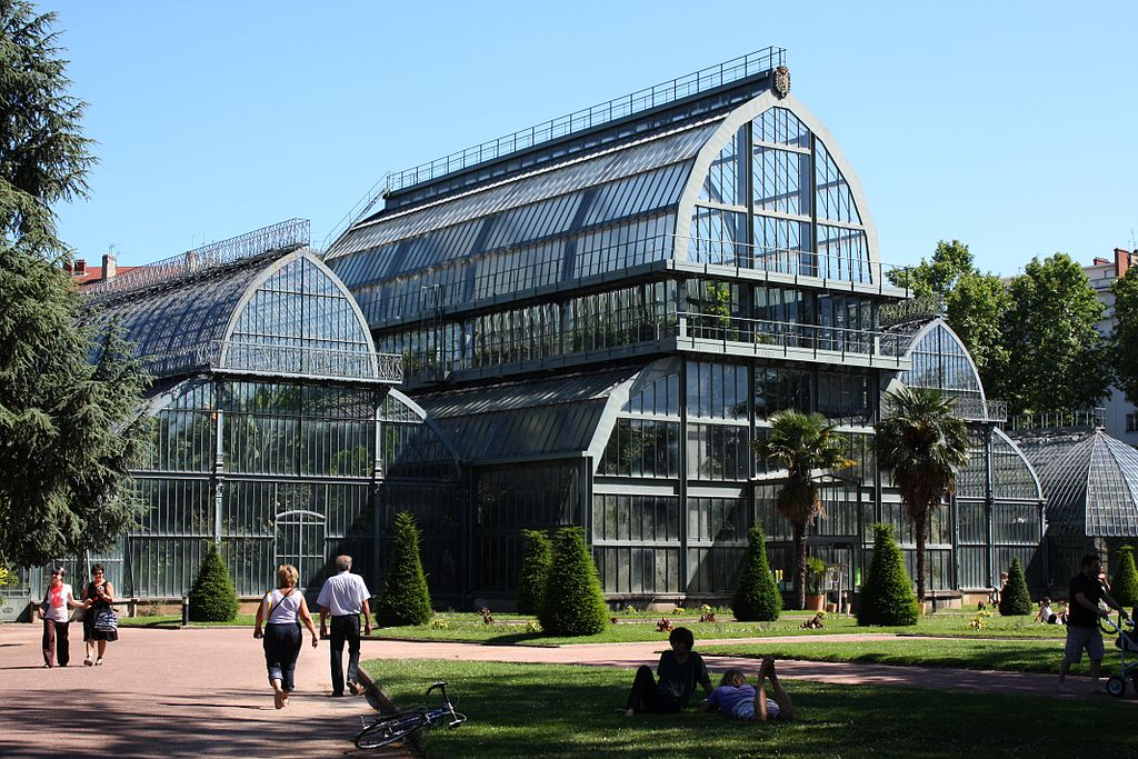 Grandes serres du jardin botanique du parc de la Tête d'Or à Lyon - Photo de Twowings