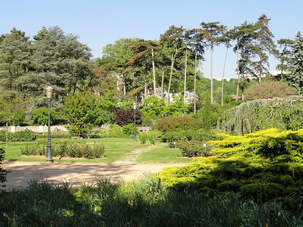 Partie boisée du parc de la Tête d'Or à Lyon - Photo de Daderot