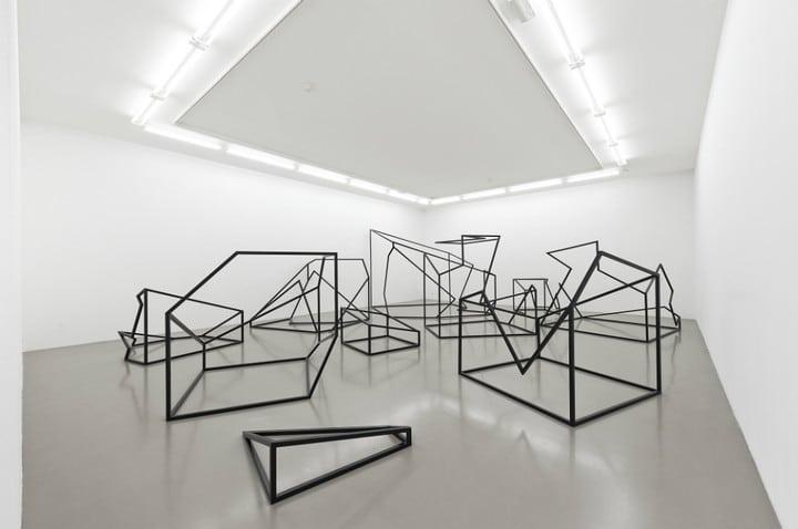 Vincent Lamouroux à l'Institut d'Art Contemporain de Lyon / Villeurbanne. Photo de Blaise Adilon