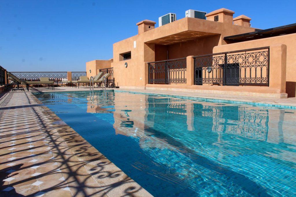 Airbnb à Marrakech : Appart à louer, moderne et bien agencé.