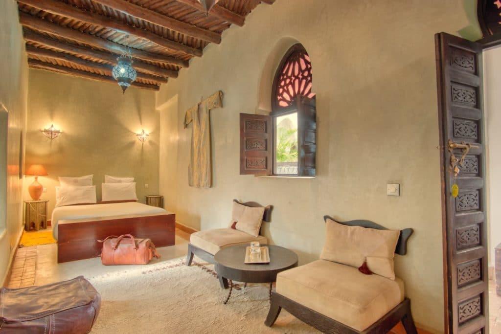 Airbnb à Marrakech : Superbe Riad dans la Médina.