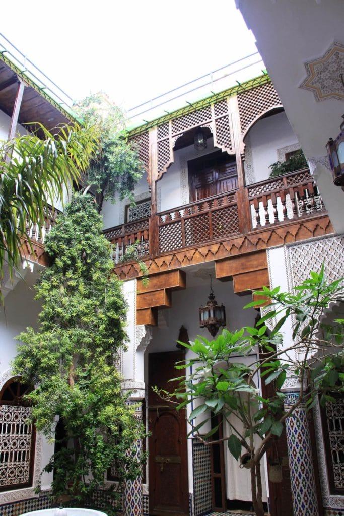 Airbnb à Marrakech : Chambre du superbe riad à louer.