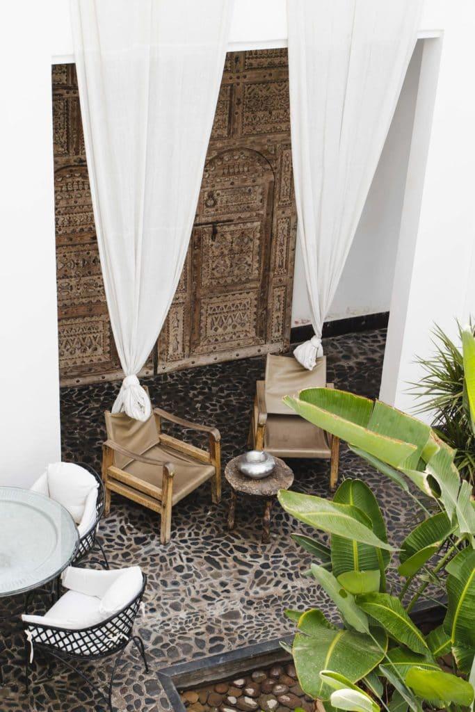 Airbnb à Marrakech : Une autre petite merveille de la Médina.