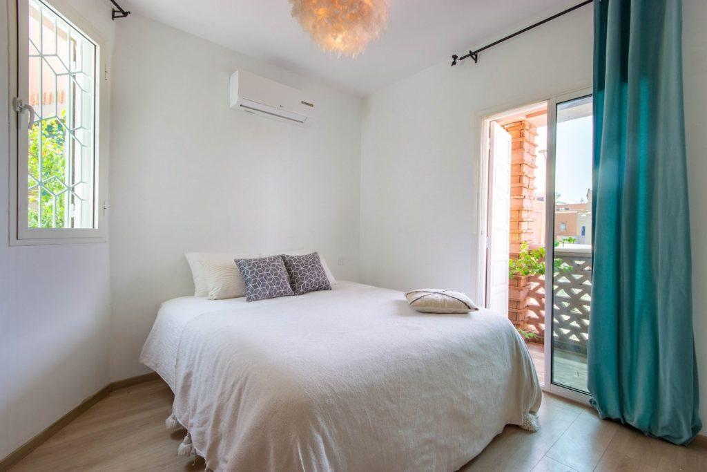 Airbnb à Marrakech dans le quartier chic de l'Hivernage.