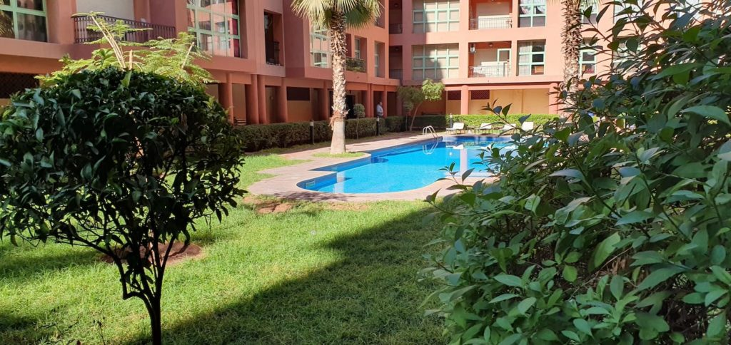 Airbnb à Marrakech : Près du jardin Majorelle.