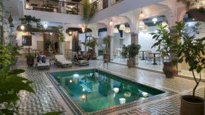 6 Auberges de jeunesse de Marrakech à partir de 6 euros