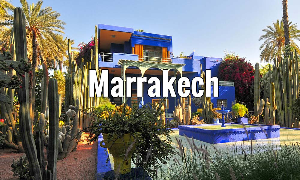 Visiter Marrakech au Maroc pendant un week-end ou plus - Photo de Viault