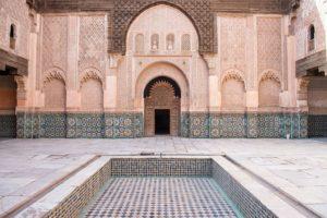 Medersa Ben Youssef à Marrakech : Incontournable splendeur / en rénovation [Medina]