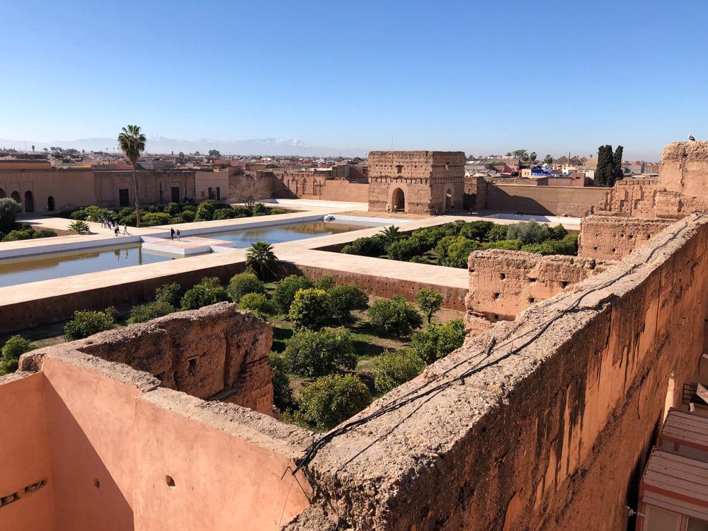 Palais d'El Badii dans la Casbah au sud de la Médina de Marrakech - Photo de Jared Lisack