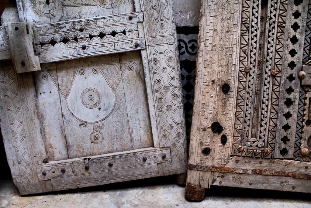 Musée d'ethnologie Bert Flint dans la Médina de Marrakech.