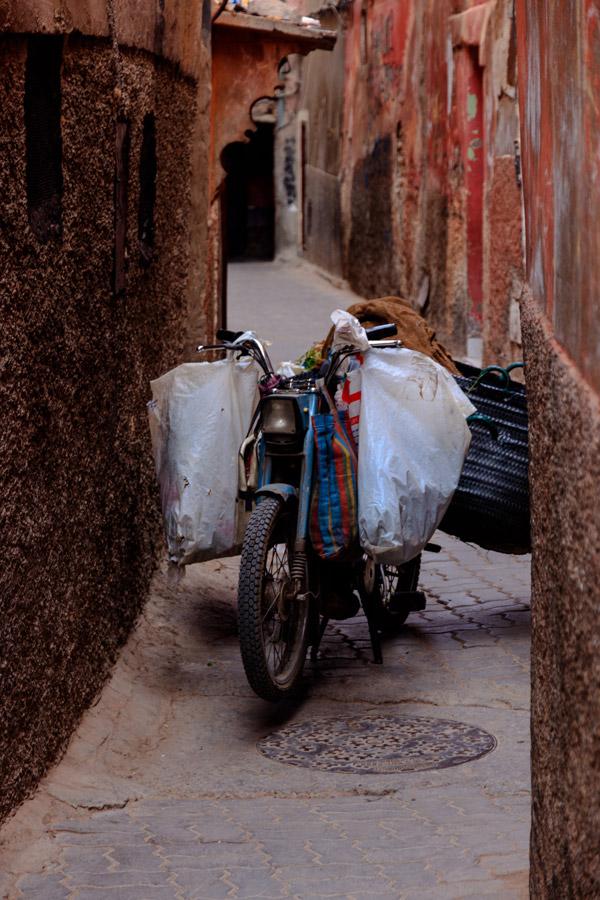 Travaux en cours dans la Médina de Marrakech - Photo de Nicolai Plenk