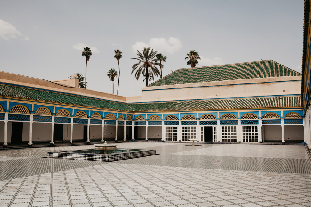 Palais de Bahia dans la Médina de Marrakech - Photo d'Emrecan Arik