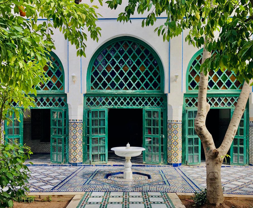 Palais de Bahia dans la Médina de Marrakech - Photo d'Oussama Sabri