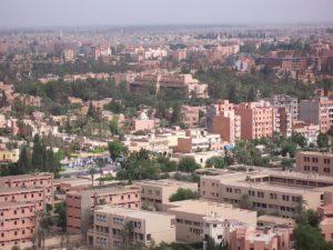 Guéliz (ou Nouvelle Ville), le quartier occidental de Marrakech