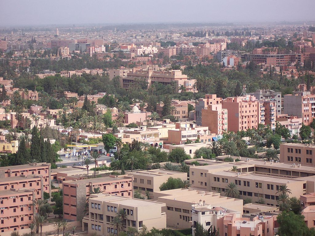 Guéliz (ou Nouvelle Ville), le quartier occidental de Marrakech