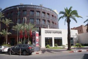 Quartier de l'Hivernage à Marrakech : Grands hôtels et clubs chics