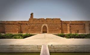 Palais El Badi à Marrakech, gigantesque ruine d'un palais jadis sompteux [Casbah]