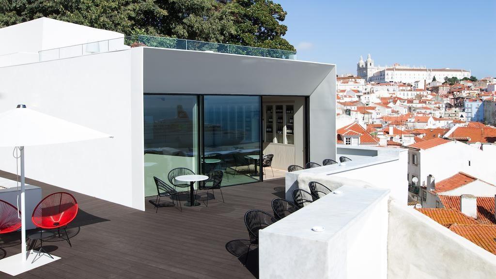 Hôtel contemporain-design Memmo Alfama dans l'Alfama à Lisbonne.