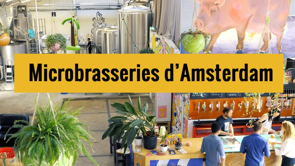 Bière à Amsterdam : 7 microbrasseries insolites et hors des sentiers battus