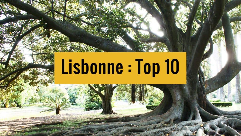 Top 10 de Lisbonne à partager !