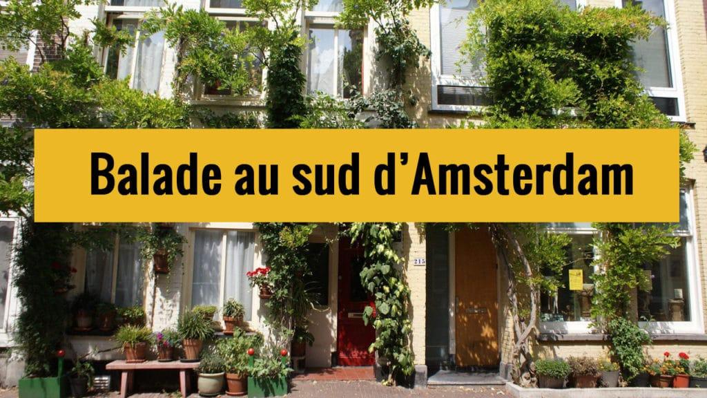 Balade en vélo dans le sud d'Amsterdam sur Youtube.