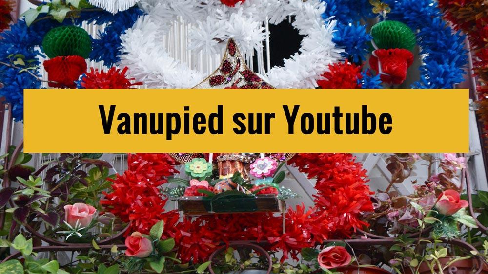 Lancement de la chaine Youtube du guide de voyage Vanupied.