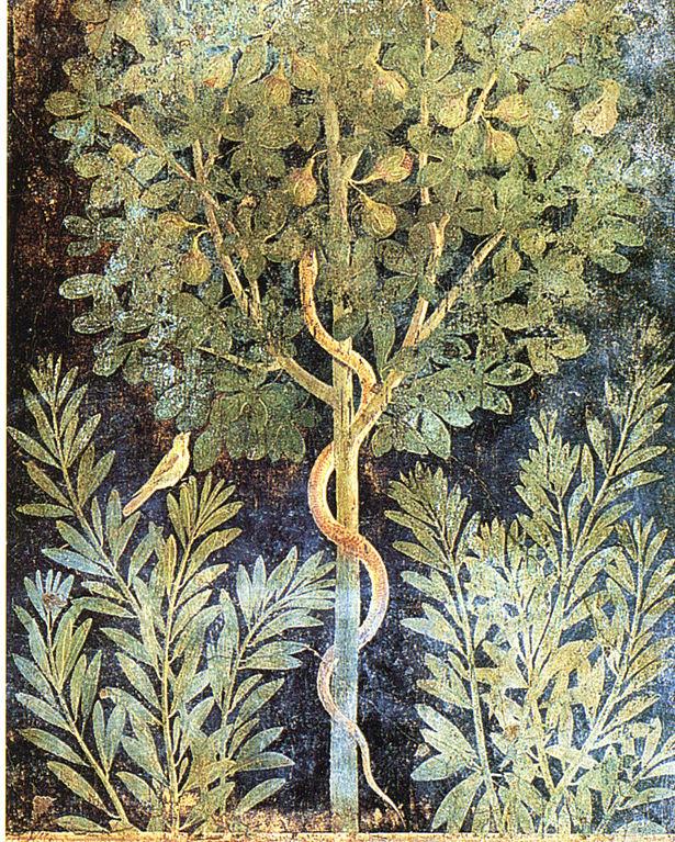 Pompéi : Fresque de la Casa del Frutteto - Photo de WolfgangRieger