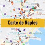 Carte de Naples (Italie) : Plan détaillé gratuit et en français à télécharger