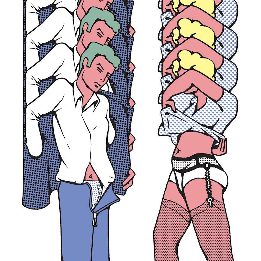 Pop art de Thomas Bayrle dans le MADRE, superbe musée d'art contemporain de Naples