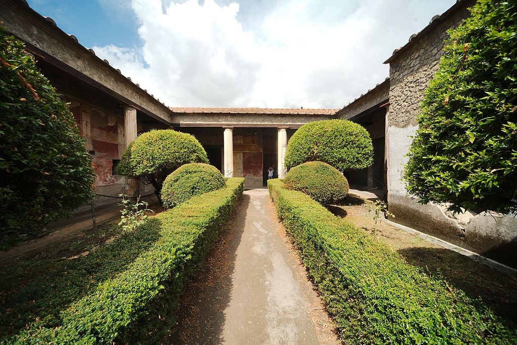 Casa della Venere in Conchiglia à Pompéi - Photo de MatthiasKabel